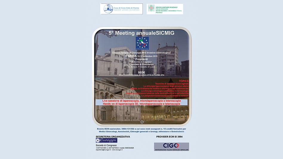 5° Meeting annuale della SICMIG