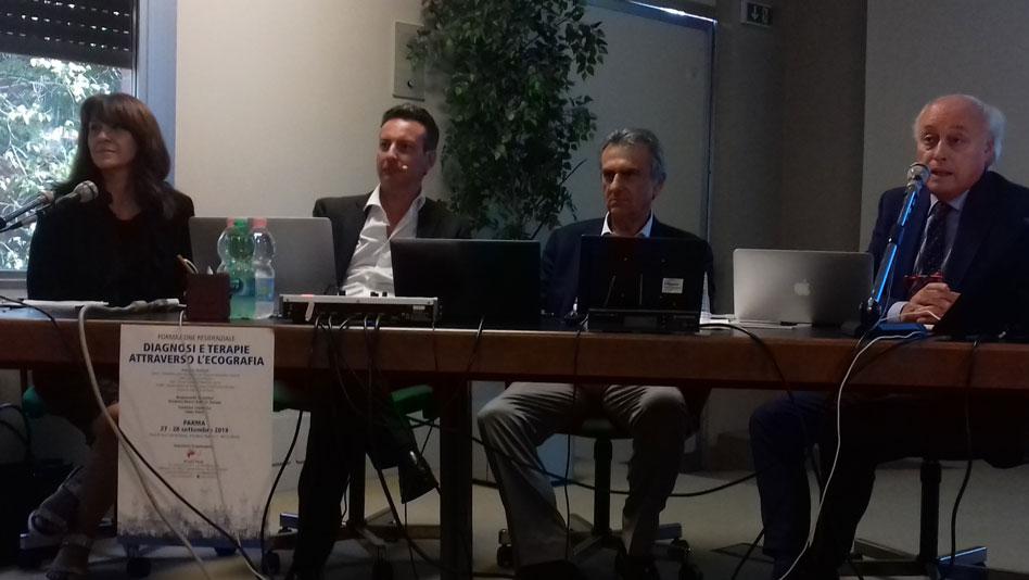 Diagnosi e terapie attraverso l'ecografia: due giorni di studio alla Città di Parma