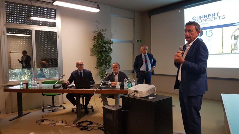 La chirurgia del ginocchio difficile: argomento di un seguitissimo convegno alla Città di Parma
