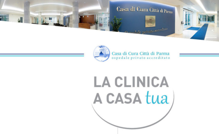 La clinica a casa tua. Esami a domicilio a Parma