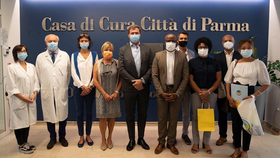 Città di Parma: donazione all'ospedale di Boa Vista