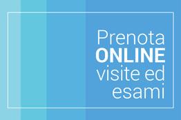 Prenota online visite ed esami